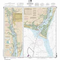 Noaa Charts For Sale Noaa Chart By Paradise Cay Cape Fear River Cape Fear To