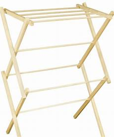 small portable wooden clothes drying rack clotheslines