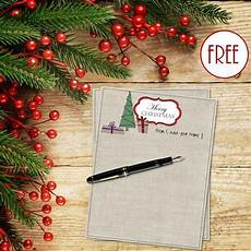 Free Printable Christmas Stationery Free Personalized Christmas Stationery