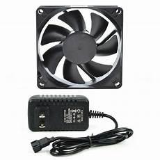 av cabinet cooling fan system 1 speed controlled fan ebay