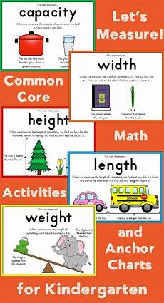 Measures Of Capacity Chart Measurement For Kindergarten Measurement Kindergarten