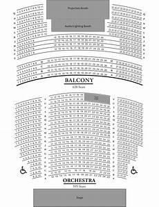 Argyle Theatre Seating Chart Seating Chart Gillioz Theatre