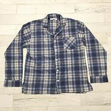 Vermont Country Store Size Chart Vermont Country Store Men S Flannel Pajama Shirt Size