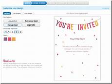 Making Invitations Online For Free 5 Free Websites To Design Online Wedding Invitations
