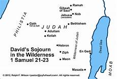 4 David Flees From Saul 1 Samuel 21 23 Life Of David