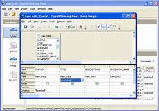 Open Office Schedule Template Open Office Base Manage Your Databases For Free With Open
