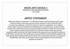 Artist Statement Sample Imgchili Ls Mag Foto 2017