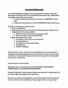 Annotated Bibliography Rubric Annotated Bibliography Guide And Rubric By Teach Them To
