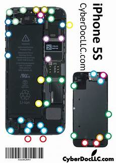 Iphone 5 Screw Size Chart Buy Iphone 5s Cyberdoc Mmagnetic Screw Chart Mat For
