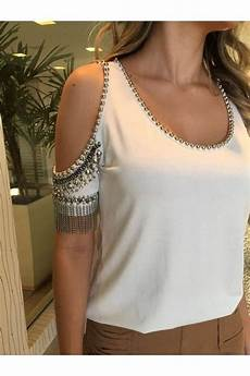 diy roupas customizao like the bare shoulder look maybe not all the rhinestones
