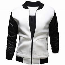 all white bomber jacket designer jackets new bomber jacket fashion black pu leather