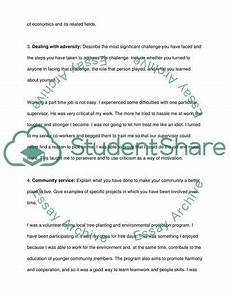 Special Interest Examples Describing Some Special Interest Significant Experience