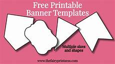 Diy Banner Template Free Printable Banner Templates Blank Banners For Diy