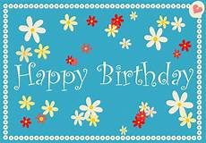 Happy Birthdaycards Printable Birthday Cards Birthday