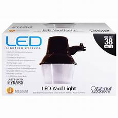 Led Yard Light Pole Mount Feit 73995 300w Replacement 5000k Non Dimmable Led Yard