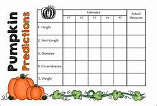 Pumpkin Weight Chart Pumpkin Predictions Measurement Fun