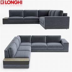 longhi sofa section model turbosquid 1208206