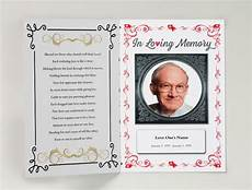 Printable Funeral Programs 75 Free Funeral Program Template Self Printable Funeral