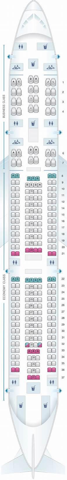 Iberia 2622 Seating Chart Mapa De Asientos Iberia Airbus A340 300 Plano Del Avi 243 N