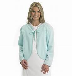 bed jacket womens ribbon tie house coat slenderella