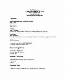 High School Graduate Resume Templates 45 Download Resume Templates Pdf Doc Free Amp Premium