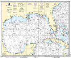 Noaa Coastal Charts Noaa Chart Gulf Of Mexico 54th Edition 411 Ebay