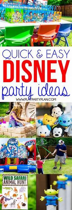 Disney Themed Party Invitations 12 Easy Disney Themed Birthday Party Ideas That