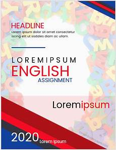 Cover Page For Assignment Free Download English Assignment Cover Page Templates Ms Word Cover