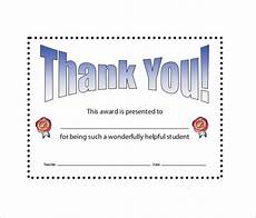 Thank You Page Template Free Download Sample Thank You Certificate Template 10 Documents