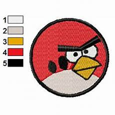 Angry Bird Designs Angry Birds Embroidery Design 005