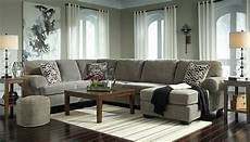 balboa large sectional living room gray corduroy fabric