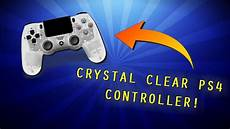 Does The Crystal Ps4 Controller Light Up Look Amp Review New Sony Ps4 Crystal Controller Clear