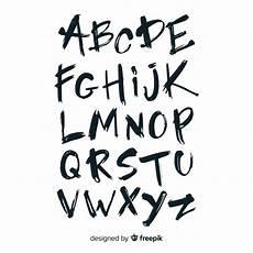 graffiti alphabet vector free
