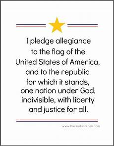 Another Word For Pledge The Pledge Of Allegiance Free Printables For Home And