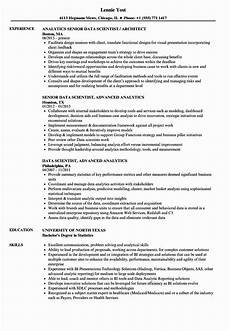 Resume Data Analysis Data Scientist Entry Level Resume Beautiful Data Scientist