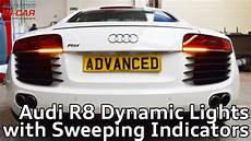 R8 Lights Audi R8 Dynamic Taillight Retrofit Youtube