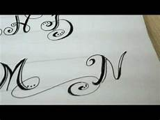 Design Your Own Online Lettering Fancy Letters How To Design Your Own Swirled Letters Youtube