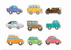 Free Cars Printables Classic Car Printable Stickers Free Printable Papercraft
