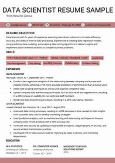 Data Scientist Cover Letter Data Scientist Cover Letter Sample Amp Tips Resume Genius