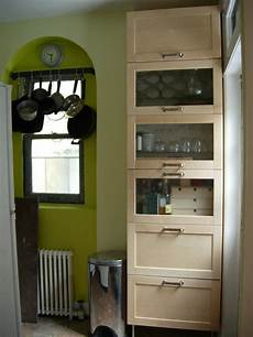 freestanding kitchen storage from wall cabinets ikea hackers