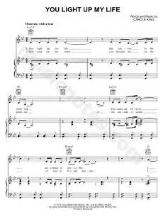 Light It Up Sheet Music Carole King Quot You Light Up My Life Quot Sheet Music In Bb Major