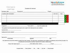 Contractor Quote Form Sample Contractor Quotes Quotesgram