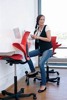 Flexispot Ergonomic Office Chair Oc5g Fashionable Caster Chair White by Capisco Puls Hag Chic Office Chair Ergonomic Chair