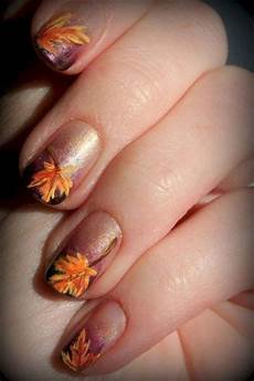 With Designs On Them 15 Autumn Themed Nail Art Ideas 2016 Girlshue