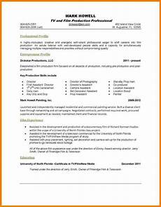 One Page Resumes 7 Resume Template One Page Professional Resume List