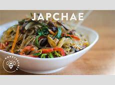 Korean JapChae Recipe (Glass Noodle ??)   HONEYSUCKLE