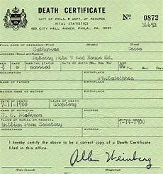 Death Certificate Print Out Medical Examiners Have It Rough It S The Families Who Do