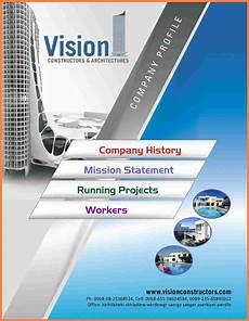 Company Profile Template For Interior Design 7 Sample Company Profile Design Company Letterhead