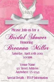 Bridal Shower Flyer Postermywall Bridal Shower Template