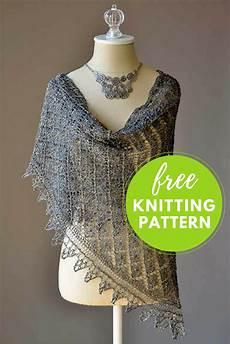 going places shawl free knitting pattern nobleknits